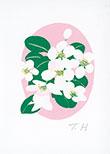 菱田俊子 版画アートコレクション No.42